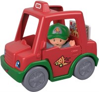 FP LITTLE PEOPLE PIZZA DELIVERY CAR