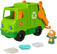 FP LITTLE PEOPLE RECYCLING TRUCK