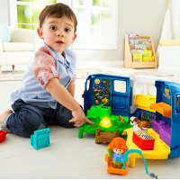 FP LITTLE PEOPLE SONGS & SOUNDS CAMPER