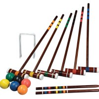 FRANKLIN 6 PLAYER CROQUET SET