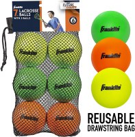 FRANKLIN 6CT YOUTH  LACROSS BALLS