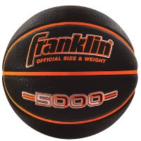 "FRANKLIN BASKETBALL 29.5"" BLACK/ORANGE"