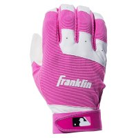 FRANKLIN BATTING GLOVE PR YTH S PINK