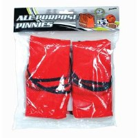 FRANKLIN PINNIES SET/6 RED