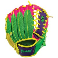 "FRANKLIN T-BALL GLOVE 9.5"" PINK.PURP/LM"
