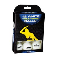 FRANKLIN TABLE TENNIS BALLS 12CT
