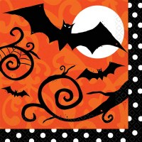 FRIGHTFULLY FANCY LUNCHEON NAPKINS 36ct