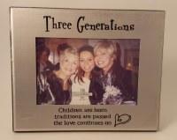 GANZ FRAME THREE    GENERATIONS