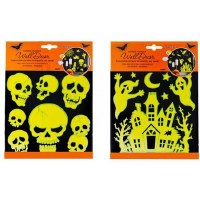 GANZ HALLOWEEN WALL DECOR STICKERS
