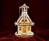 GINGER COTTAGES ELF ACADEMY SCHOOL HOUSE