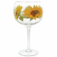 GINOLOGY COCKTAIL GLASS SUNFLOWER
