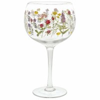 GINOLOGY COCKTAIL GLASS WILDFLOWERS