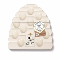 GRASSLANDS BEE OUR GUEST EGG PLATE