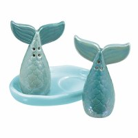 GRASSLANDS MERMAID SALT/PEPPER SET