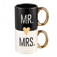 GRASSLANDS MR & MRS MUG SET