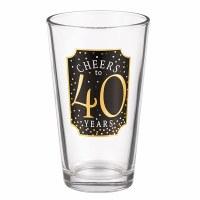 GRASSLANDS RD PINT GLASS 40