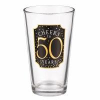 GRASSLANDS RD PINT GLASS 50