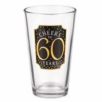 GRASSLANDS RD PINT GLASS 60