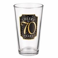 GRASSLANDS RD PINT GLASS 70