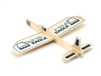 GUILLOW'S BALSA WOOD EAGLE GLIDER