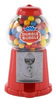 CLASSIC DOUBLE BUBBLE GUMBALL BANK