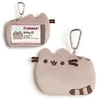 "GUND PUSHEEN 9.5""   GREY ID CASE"