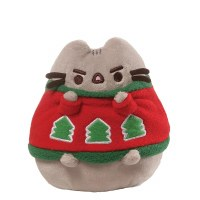 "GUNDPUSHEEN 4.5"" W/HOLIDAY SWEATER"