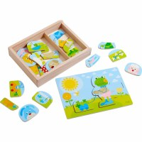 HABA MERRY ANIMAL MIX & MATCH PUZZLE