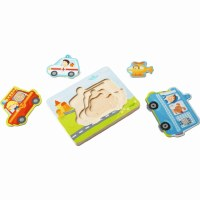 HABA WOODEN PUZZLE EMERGENCY CALL