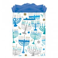 HANUKKAH MENORAH MEDIUM GIFTBAG