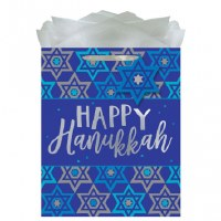 HAPPY HANUKKAH LARGE GIFT BAG