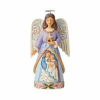 HEARTWOOD CREEK ANGEL W/ HOLY FAMILY