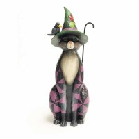 HEARTWOOD CREEK BLACK CAT WITCH
