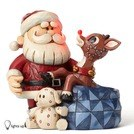 HEARTWOOD CREEK LITE UP RUDOLPH NOSE FIG