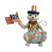 HEARTWOOD CREEK PATRIOTIC CAT MINI
