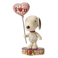 HEARTWOOD CREEK     SNOOPY W/HEART BALLO
