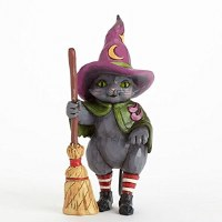 HEARTWOOD CREEK     WITCH CAT W/BROOM