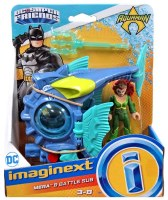 IMAGINEXT AQUAMAN MERA & BATTLE SUB