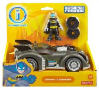 IMAGINEXT BATMAN & BATMOBILE