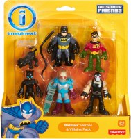 IMAGINEXT BATMAN HEROES & VILLAINS PACK