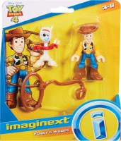 IMAGINEXT TOY STORY 4 FORKY & WOODY