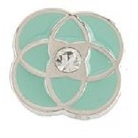JEWEL LA LA CHARM   TEAL