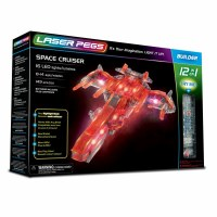 LASER PEGS 12 IN 1 SPACE CRUISER