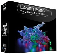LASER PEGS 24 IN 1  SPACESHIP