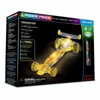 LASER PEGS 6 IN 1 DRAGSTER