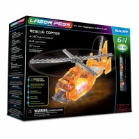 LASER PEGS 6 IN 1 RESCUE COPTER