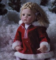 LEE MIDDLETON DOLL  SNOW DAYS