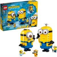 LEGO BRICK BUILT MINIONS & THEIR LAIR