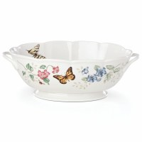 LENOX BUTTERFLY CENTERPIECE BOWL