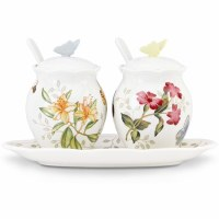 LENOX BUTTERFLY MDW 7PC CONDIMENT SET